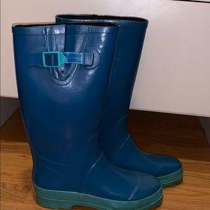 marc jacobs blue rain boots